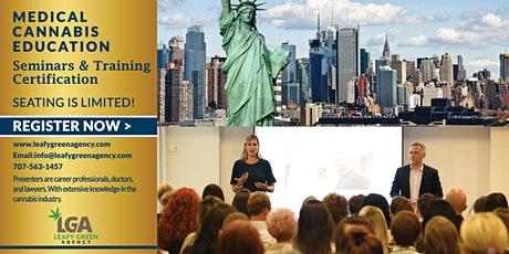 New York One Day Medical and Adult Use  Marijuana Masterclass Workshop tickets