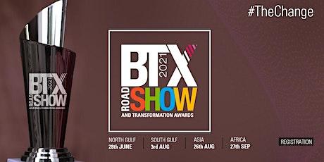 BTX Roadshow & Transformation Awards 2021 - Registration tickets