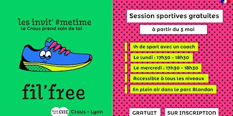 Sessions sportives Parc Blandan -  juin 2021 billets