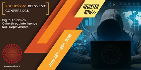 Rocheston Reinvent Cybersecurity Conference - SOEBIT July 2021 tickets