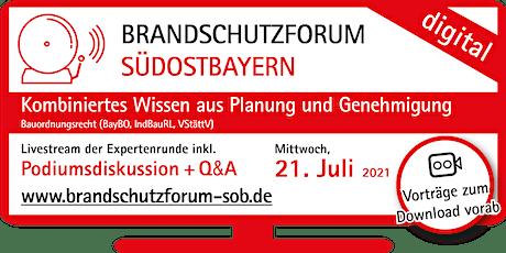 BRANDSCHUTZFORUM SÜDOSTBAYERN  digital Tickets