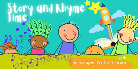 Rhyme and Story Time with Kensington Central Library tickets