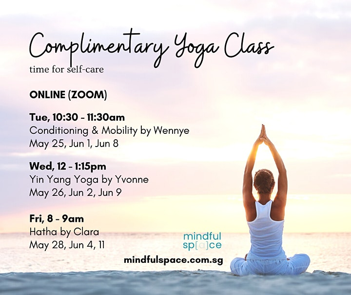 Complimentary Online Yoga Class image
