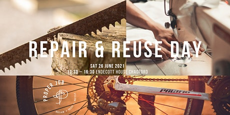 Repair & Reuse Day tickets