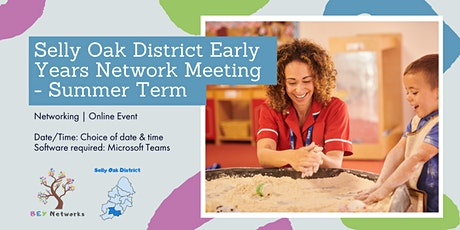 Selly Oak District Early Years Network Meeting - Summer Term tickets