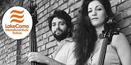 Duo Incontra (Camilla Patria -violoncello, Tommaso Fiorini - contrabbasso) biglietti