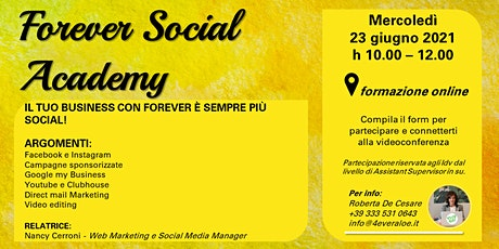 Forever Social Academy tickets