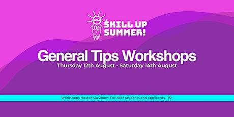 Skill Up Summer: Stylised Animation Using Maya tickets