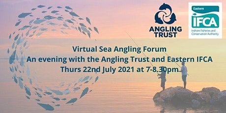 An evening with the  Eastern IFCA - A FREE Virtual Sea Angling Forum tickets