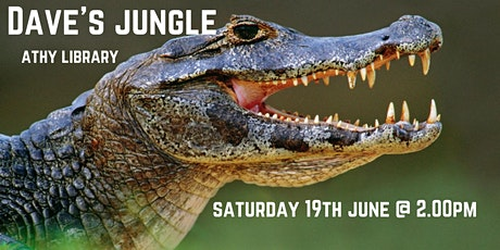 Athy Library Presents: Dave's Jungle for all the family tickets