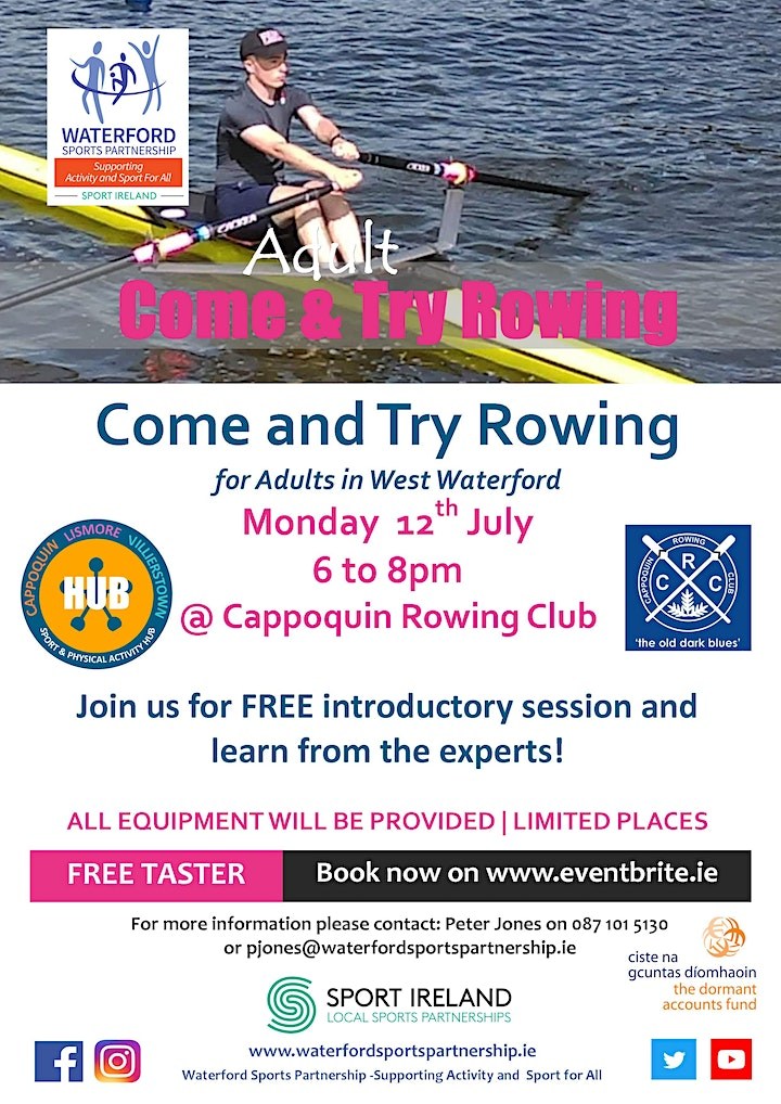 Come & Try Rowing for Adults in West Waterford image