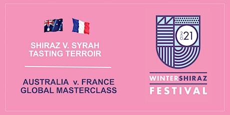 Shiraz v. Syrah  Tasting Terroir  Global Master Class  Sun 4 July 1pm - 3pm tickets