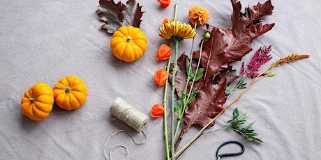 Autumn Vase Design Workshop tickets