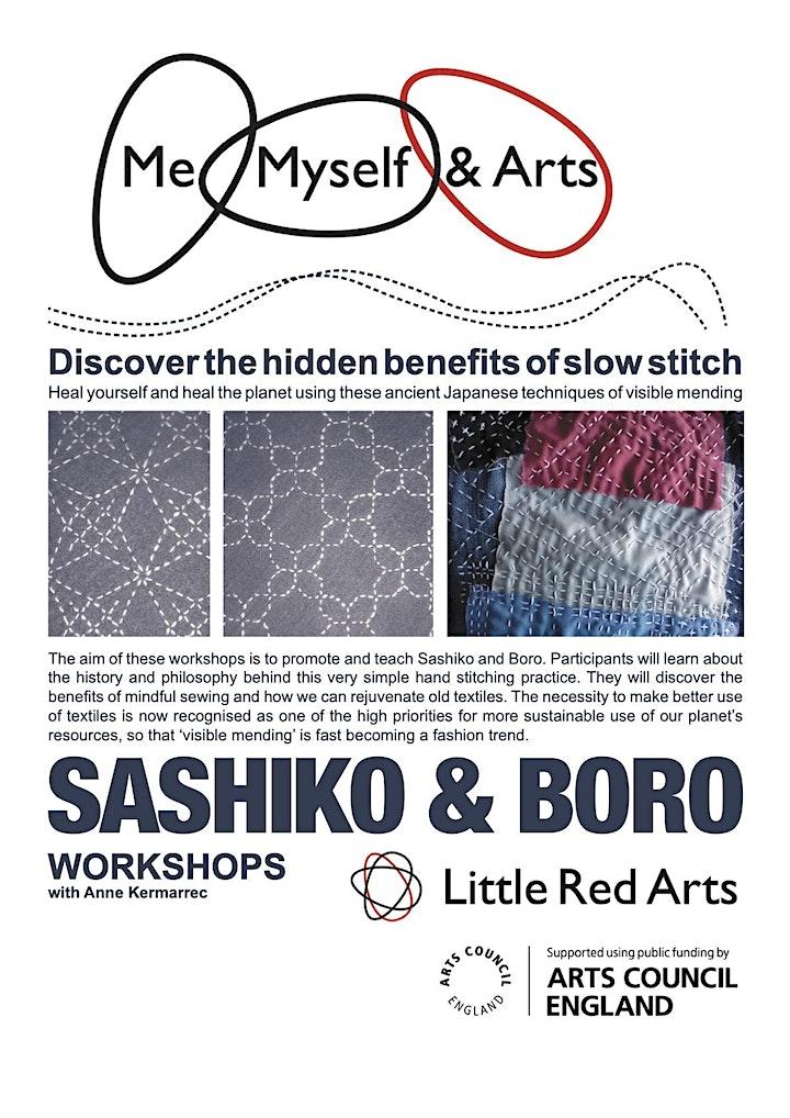 Sashiko and Boro Workshop - Me, Myself and Arts - Luton image