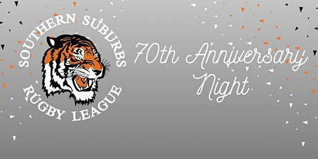 Southern Suburbs 70th Anniversary Dinner tickets