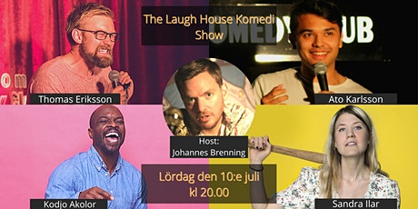 The Laugh House Ståupp Komedi 10:e juli tickets