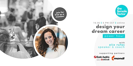 design your dream career   power hour with alix rufas tickets