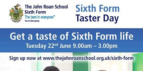 The John Roan Sixth Form Taster Day tickets
