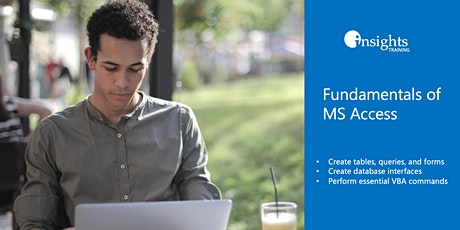Fundamentals of MS Access Webinar tickets