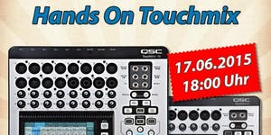 Berlin: Hands On Touchmix - QSC-Mixer-Workshop