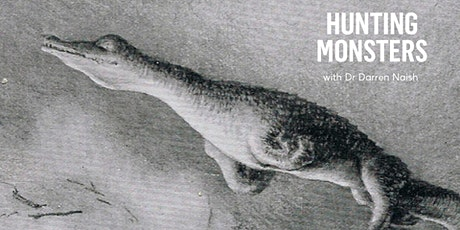 Lecture Series: Hunting Monsters with Dr Darren Naish tickets