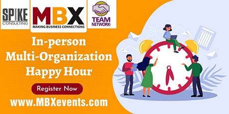 MBX In-person Multi-Organization Happy Hour tickets