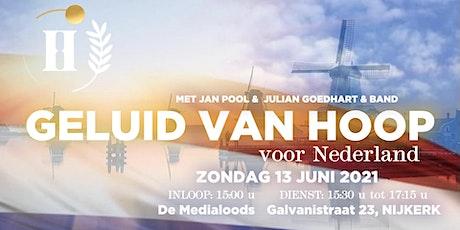 Geluid van Hoop met Jan Pool en Julian Goedhart & band tickets