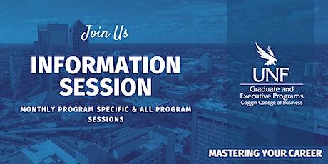 UNF Coggin Graduate Programs Information Session tickets