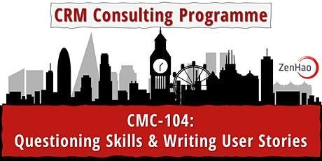 CMC-104:  Questioning Skills & Writing User Stories (Aug '21) tickets