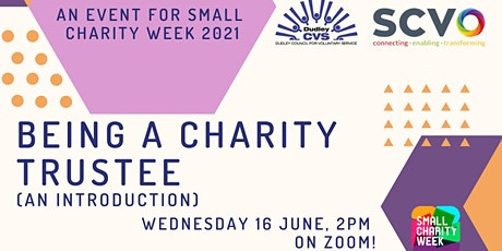 Small Charity Week - Being a Charity Trustee (An Introduction) tickets
