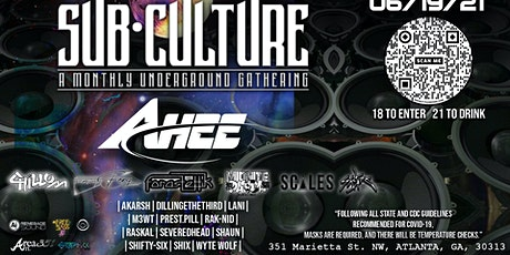 SubCulture.ATL featuring AHEE tickets