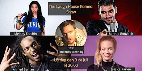 The Laugh House Ståupp Komedi 31:a juli tickets