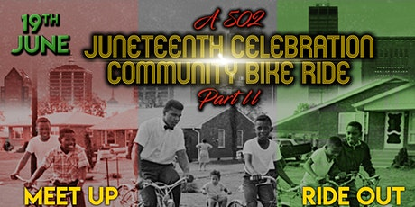 A 502 Juneteenth Community Bike Ride tickets