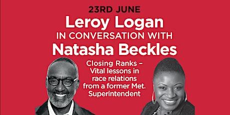 PHLS 2021: Leroy Logan in conversation with Natasha Beckles 'Closing Ranks tickets