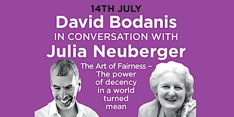 PHLS 2021: David Bodanis in conversation with Julia Neuberger tickets