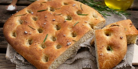 Free Cookery Taster - Baking Bread for Beginners - Focaccia tickets