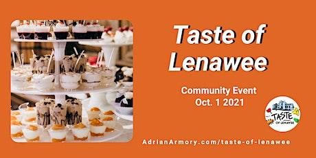 Taste of Lenawee 2021 tickets