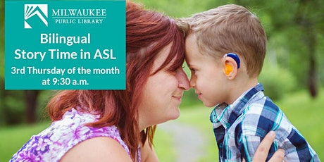 Virtual Bilingual Story Time in ASL with Milwaukee Public Library tickets