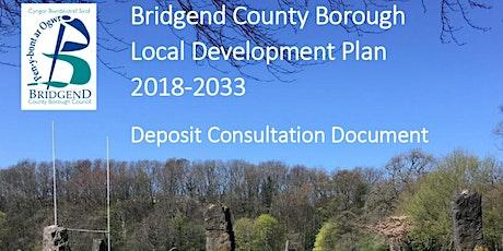 Bridgend County Borough Council Replacement LDP Deposit Plan Consultation tickets