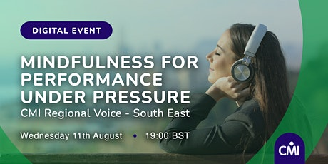 Mindfulness for Performance under Pressure tickets