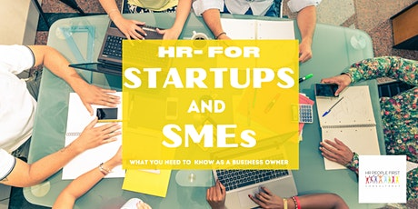HR-People First Consultancy Presents: HR- For Start-Ups and SMEs tickets