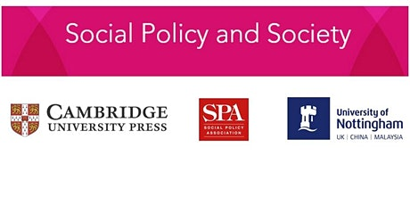 Social Policy and Society - Annual Lecture 2021 tickets