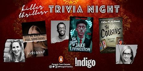 Penguin Teen Canada Zoom Trivia June: Killer Thrillers Edition tickets