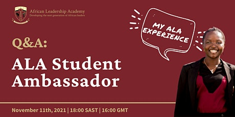 Q&A with an ALA Student Ambassador tickets
