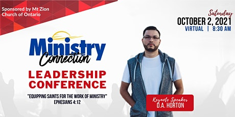 Ministry Connection 2021  -  Leadership Conference tickets