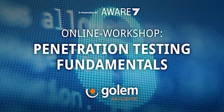 Penetration Testing Fundamentals tickets