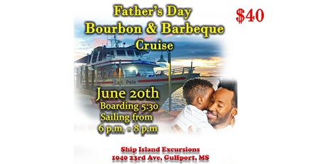 JZ 94.5 Father's Day Bourbon & Barbeque Cruise tickets