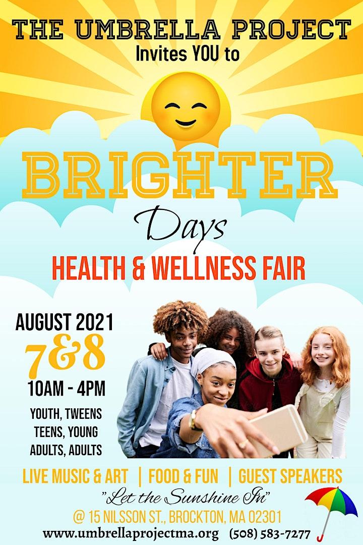 Brighter Days Health & Wellness Fair image