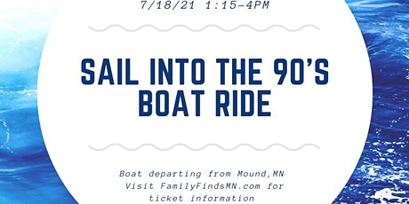 Sail into the 90's Yacht Party tickets