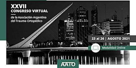 CONGRESO VIRTUAL AATO 2021 entradas